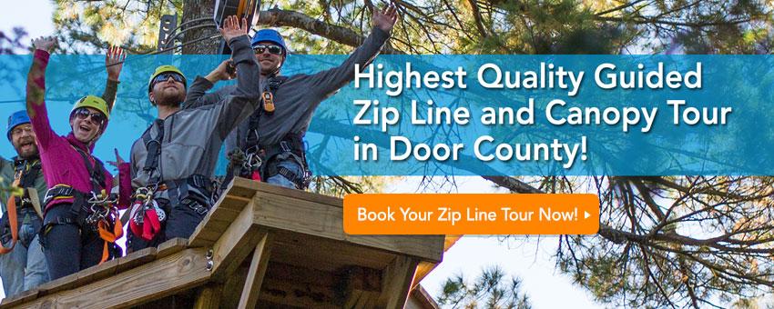 book your zip line tour now