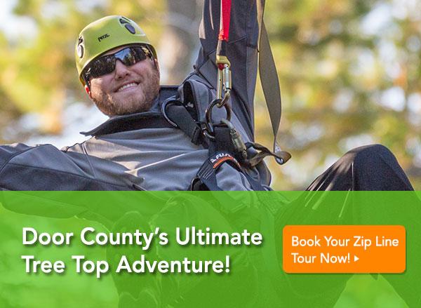 door county zip line tour tree top adventure